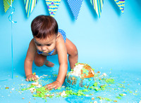 San Ramon Cake Smash Session - Baby A - 37